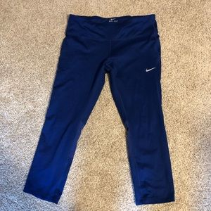 Nike running cropped leggings